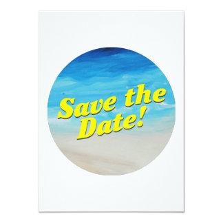 Beach Themed Party Invitation