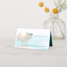 Beach Themed Place Card