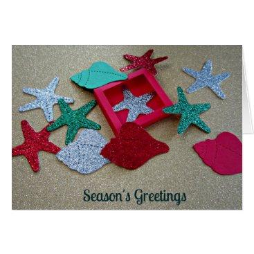 Beach Themed Beach Themed Season's Greetings. Card