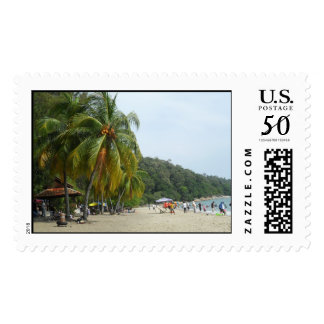 Beach themed Stamp
