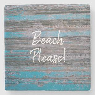 Beach Themed Stone Coasters