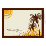 Beach Themed Thank You Note Greeting Cards