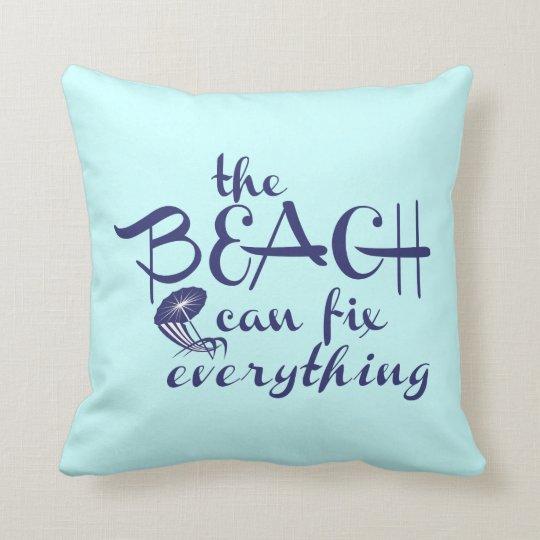 Beau Beach Themed Throw Pillows   Zazzle.com