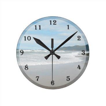 KathyHenis Beach Themed Wall Clock