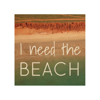 Beach Themed Wall Decor with Quote