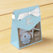 Beach Themed Wedding Favor Boxes