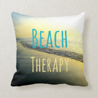 Beach Therapy Pillow