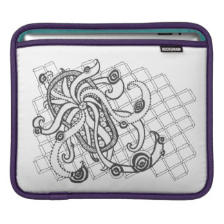 Beach Thong Swirls Sleeve For iPads