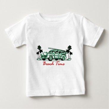 Beach Themed Beach Time Baby T-Shirt
