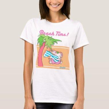 BEACH TIME! by Boynton T-Shirt