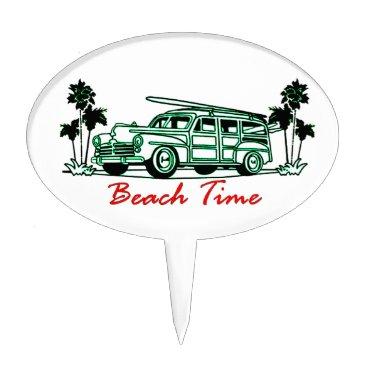 Beach Time Cake Topper