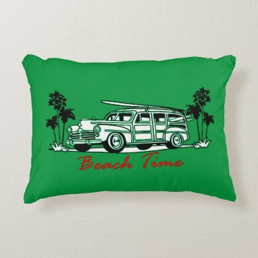 Beach Time Decorative Pillow