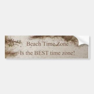 Beach Time Florda Cottage theme Bumper Sticker
