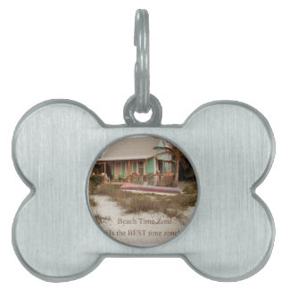 Beach Time Florda Cottage theme Pet Tags