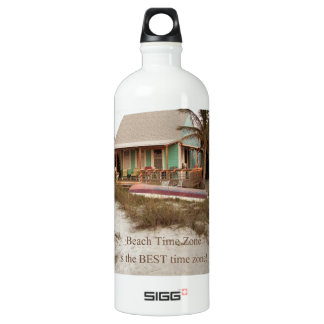 Beach Time Florda Cottage theme Water Bottle