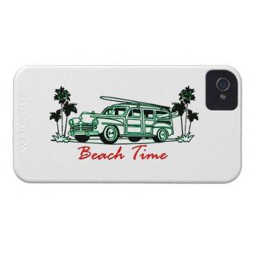 Beach Time iPhone 4 Case