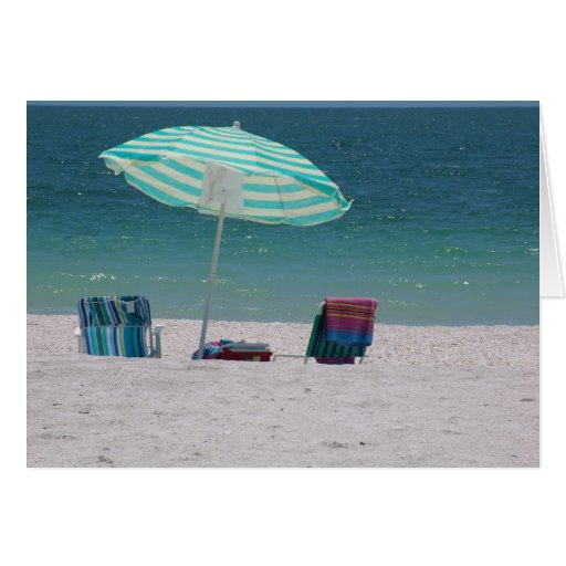 Beach time Is Near Greeting Card