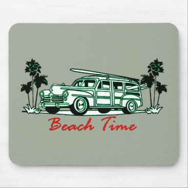 Beach Time Mouse Pad