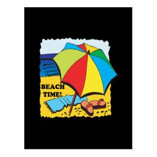 Beach Time Postcard