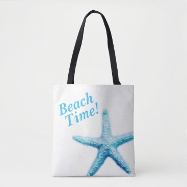 Beach Themed Beach Time Starfish Tote
