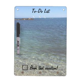 Beach To Do List Dry Erase Board