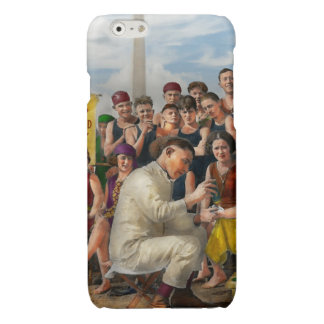Beach - Toes Tenderly Treated 1922 Glossy iPhone 6 Case