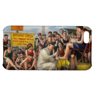 Beach - Toes Tenderly Treated 1922 iPhone 5C Cases