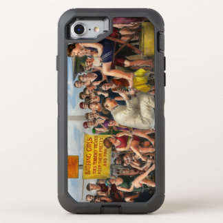 Beach - Toes Tenderly Treated 1922 OtterBox Defender iPhone 7 Case