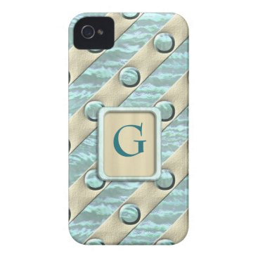Beach Themed Beach Tones iPhone 4 Case