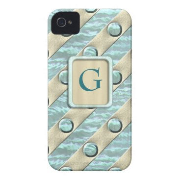 Beach Themed Beach Tones iPhone 4 Case-Mate Case
