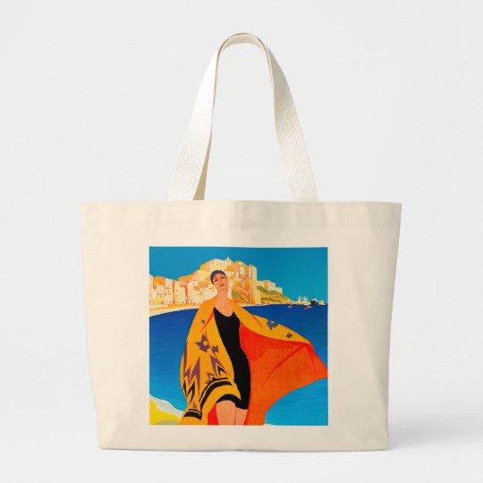 "Beach Tote Bag: ""French Riviera"""