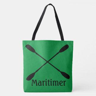 beach tote bag water kayaking  maritimer