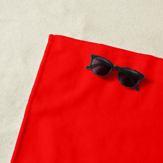 Beach Towel Red