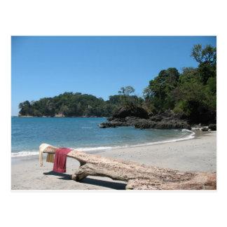beach towels postcard