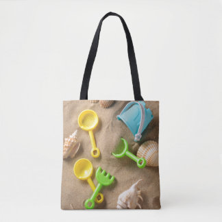 Beach Toys Tote Bag