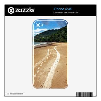 beach tracks skin for iPhone 4S