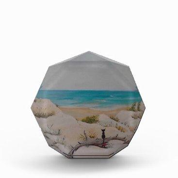Beach Themed Beach Traveler Acrylic Award