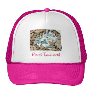 Beach Treasures Pink sports hats Vacations Trips