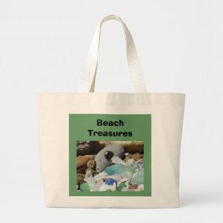 Beach Treasures tote bags Seaglass Sea Glass