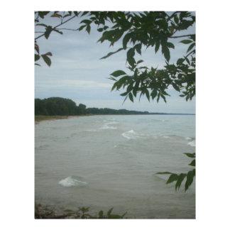 Beach Tree Frame Letterhead