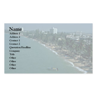 Beach Trees Protecting The World Of Humans Double-Sided Standard Business Cards (Pack Of 100)