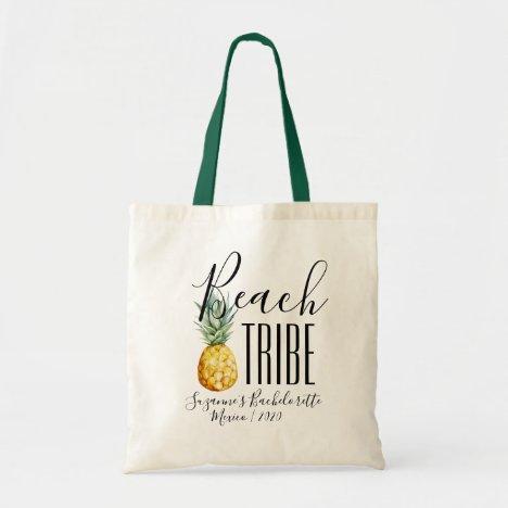 Beach Tribe Girl's Trip Bachelorette Vacation Tote Bag