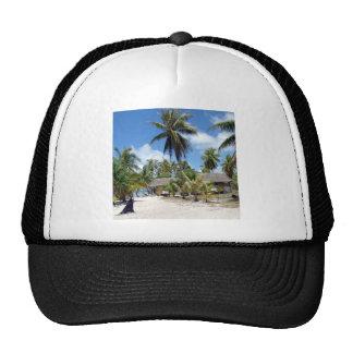 Beach Tropical Bed Breakfast Trucker Hat