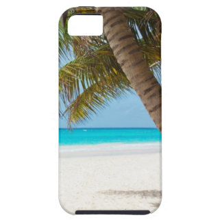 Beach tropical palm tree ocean paradise photo iPhone SE/5/5s case