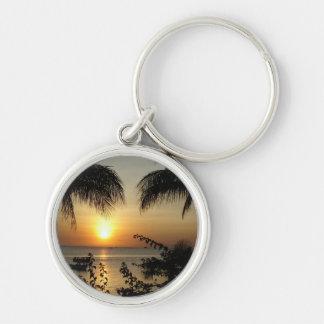 Beach Tropical Paradise Keychains