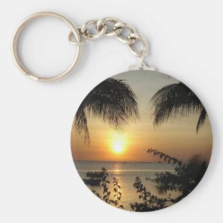Beach Tropical Paradise Keychain