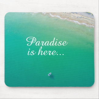 Beach Turquoise Water Mouse Pad