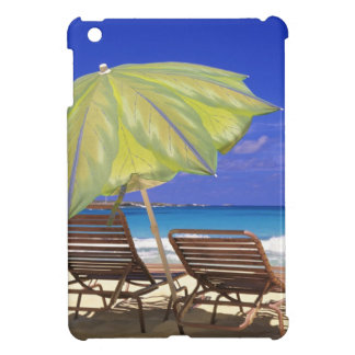 Beach Umbrella, Abaco, Bahamas iPad Mini Cases