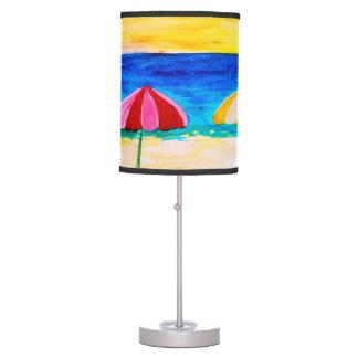 Beach Umbrella Accent Table Lamp