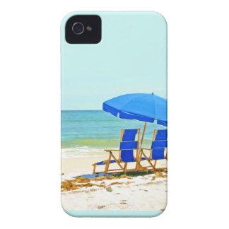 Beach, Umbrella and Chairs Case-Mate iPhone 4 Case